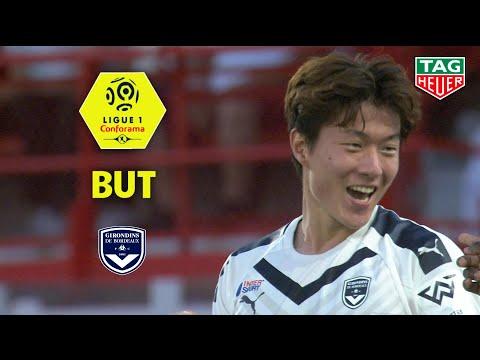 But Ui-Jo HWANG (11') / Dijon FCO - Girondins De Bordeaux (0-2)  (DFCO-GdB)/ 2019-20