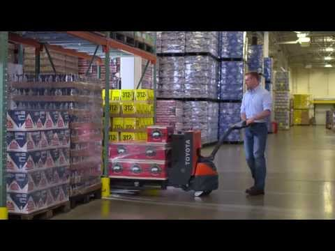 Toyota Electric Walkie Pallet Jack Official Video
