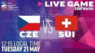 Czech Republic vs. Switzerland | Full Game | 2019 IIHF Ice Hockey World Championship