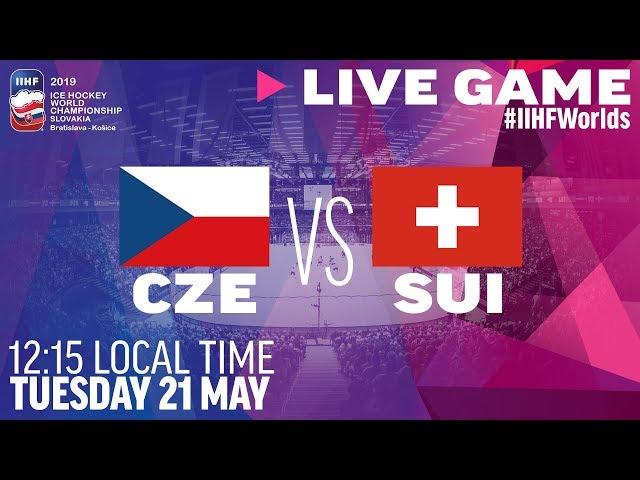 Czech Republic vs. Switzerland   Full Game   2019 IIHF Ice Hockey World Championship