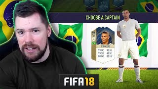 MY FIRST DRAFT! - FIFA 18 Ultimate Team