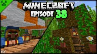 MASSIVE JUNGLE CAMPSITE PROGRESS! | Python's World (Minecraft Survival Let's Play S2) | Episode 38