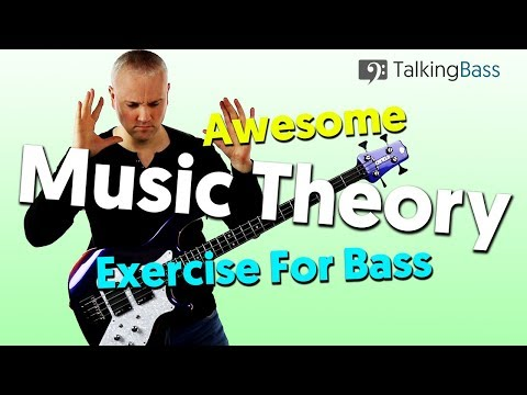 Awesome Music Theory Workout For Bass Guitar