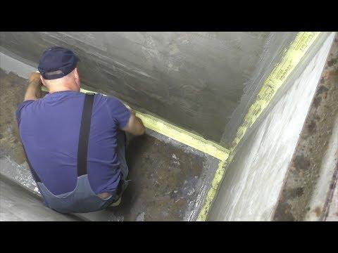 Гидроизоляция смотровой ямы в гараже своими руками видео