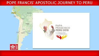 Pope Francis - Apostolic Journey to Peru - Farewell ceremony 2018-01-21