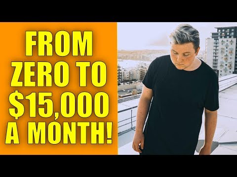 HE WENT FROM ZERO TO $15,000 A MONTH…IN 1 MONTH FROM AFFILIATE MARKETING!!!