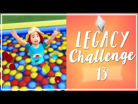The Sims 4 | Legacy Challenge [First Generation]: Toddler Stuff! [13] | Mousie |