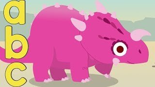 Learning ABC's | Dino's ABC Song | Learning For Kids | Toddler Fun Learning | Nursery Rhymes