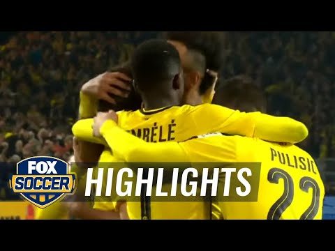 Borussia Dortmund vs. Hamburg SV | 2016-17 Bundesliga Highlights