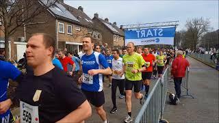 Start 10 km en halve marathon Harderwijk 2018