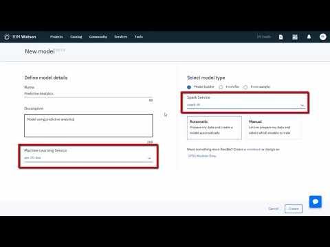 IBM Watson Machine Learning: Build a...