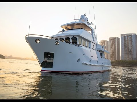 Bering 65 - Steel expedition trawler yacht