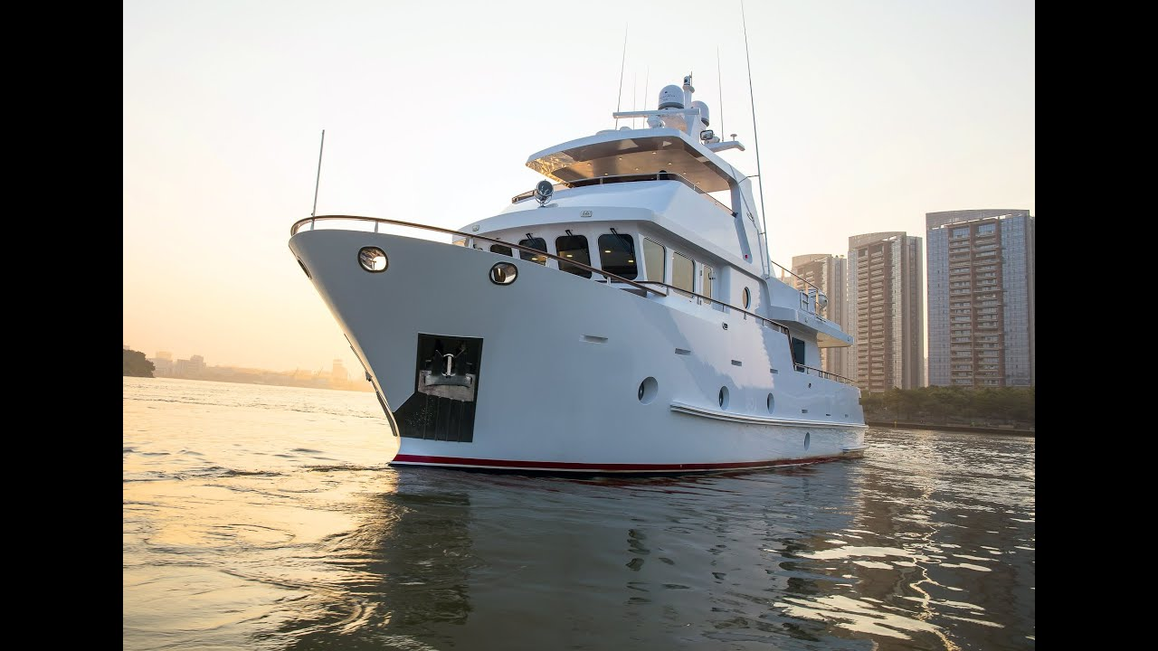 Steel Expedition Yachts : Bering steel expedition trawler yacht youtube