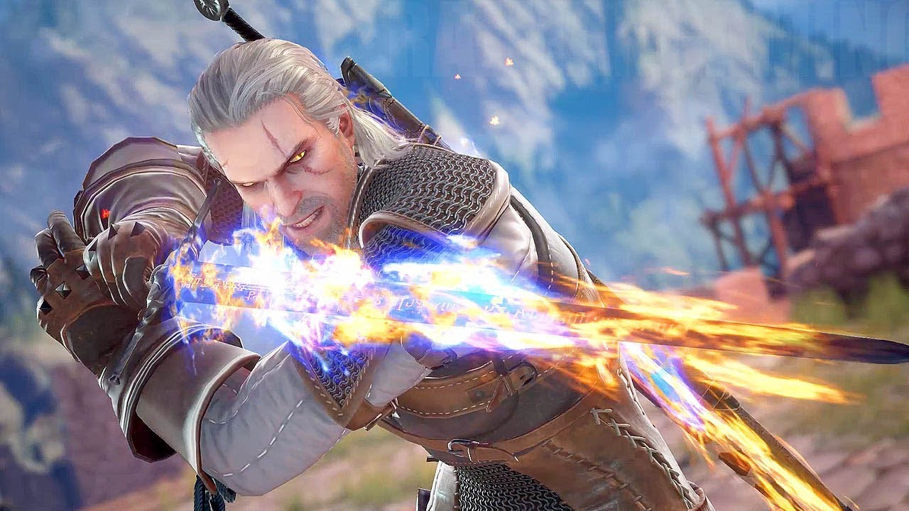 Image result for Soul Calibur VI Geralt 1920x1080