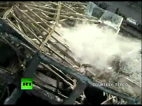 Latest close-up shots of Fukushima, video of Japan tsunami hitting plant