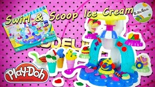 Play-Doh Swirl & Scoop Ice Cream Playset
