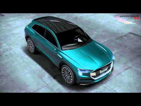 Der Audi E-tron Quattro Concept 2016