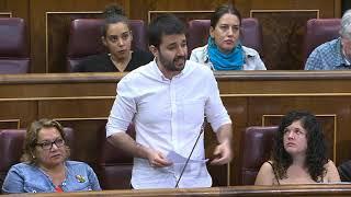 Javier Sánchez Serna pregunta por #SoterramientoMurcia en el Congreso