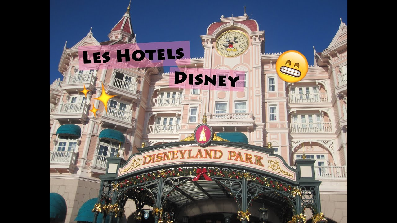 Les hotels a disneyland paris youtube for Hotel des bains paris 14e
