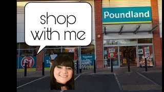 Shop with me - Poundland -