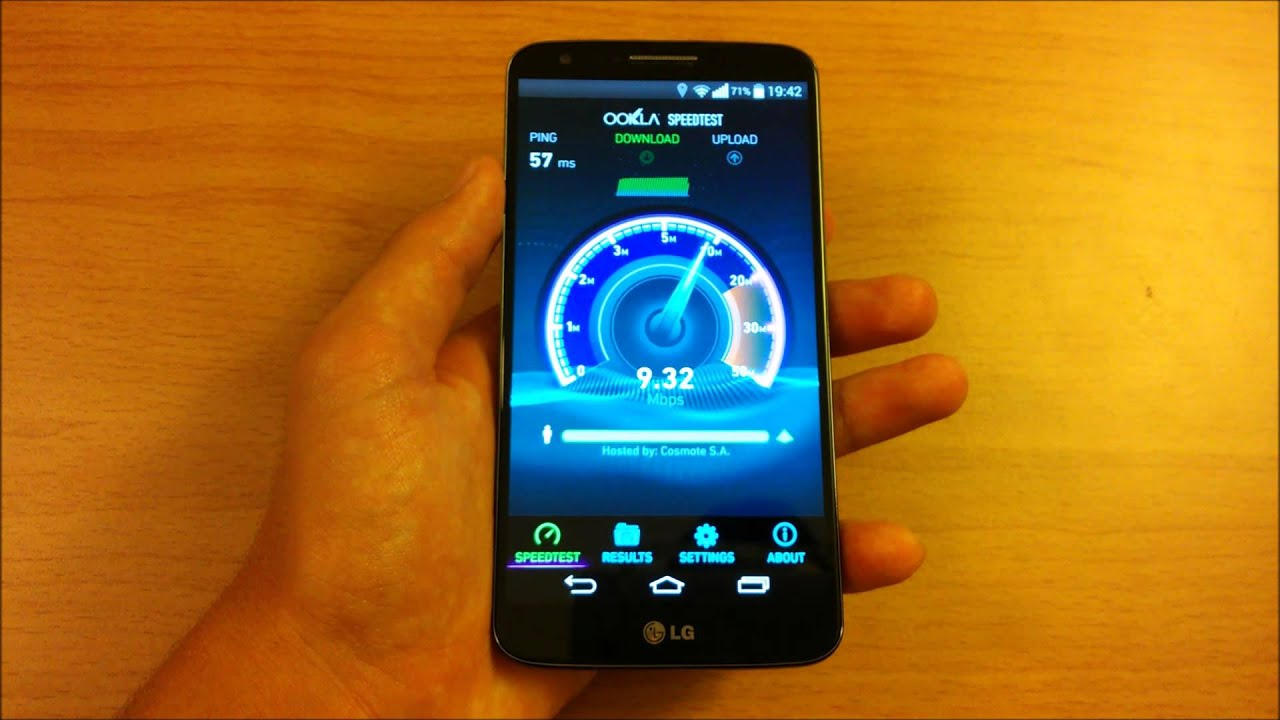 Check your Internet Speed on Android - Ookla Speedtest ...