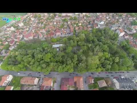 Grad Bijeljina iz vazduha