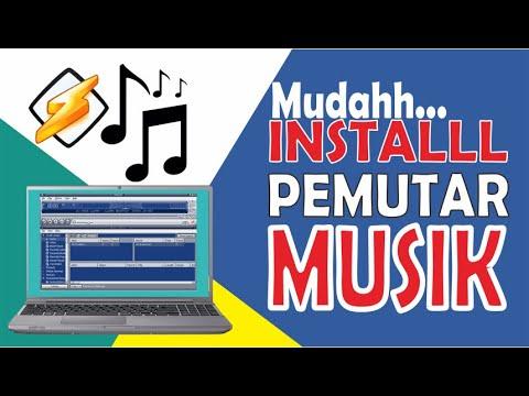 Cara Download Dan Install Aplikasi Pemutar Musik Winamp   Untuk Memutar Musik MP3, WAV Dan  Lainnya