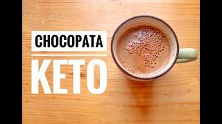 CHOCOLATE CON CALDO DE PATA  CHOCOPATA KETO