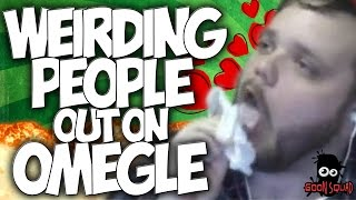 """OMEGLE: WEIRDING PEOPLE OUT ON OMEGLE!! with the #GOONSQUAD """"OMEGLE TROLLING"""""""