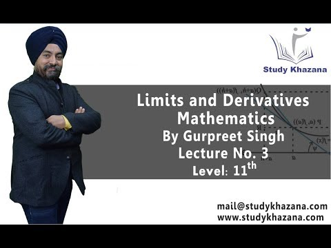 Limits and Derivatives By Gurpreet Singh