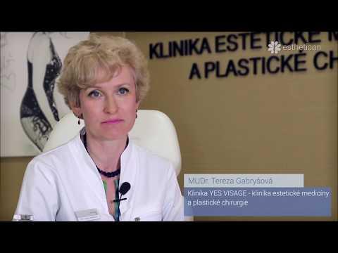 MUDr  Tereza Gabryšová  Bezpečnost injekčních výplní na báze kyseliny hyaluronové
