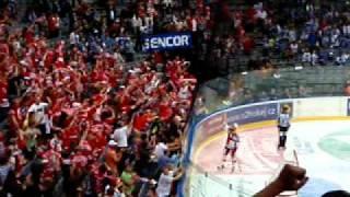 Vladimír RŮŽIČKA HC Slavia Praha proměňuje nájezd
