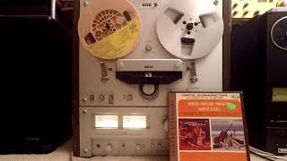 Webley Edwards Hawaii Calls Reel to Reel Tape