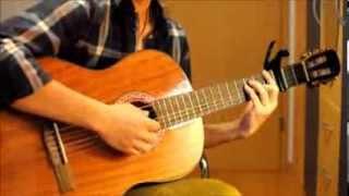 Chiếc khăn gió ấm - Guitar