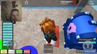 Playing roblox in clash royale ptr 2