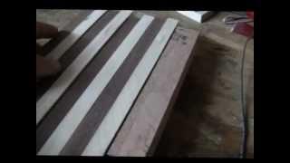 Gluing Up A Cutting Board