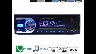 Videorecensione ITA AUDEW Bluetooth Autoradio Stereo Lettore per auto MP3 Car FM Radio AUX