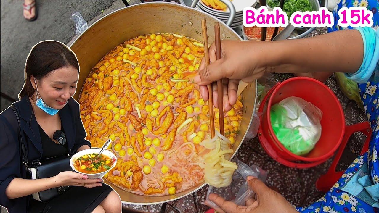 Hết hồn tô bánh canh 15k rẻ nhất Sài Gòn, truyền ba đời ai mua bao nhiêu cũng bán