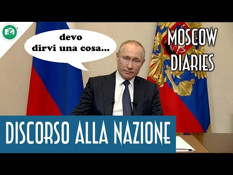 PUTIN AMMETTE l'EMERGENZA - Moscow Diaries