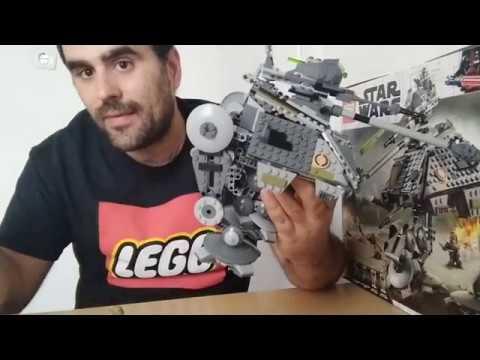 Heti videó: 22# Lego Star Wars - 75234 AT-AP Walker