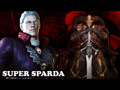 Devil May Cry 4 Special Edition - Super Sparda GAMEPLAY - PS4