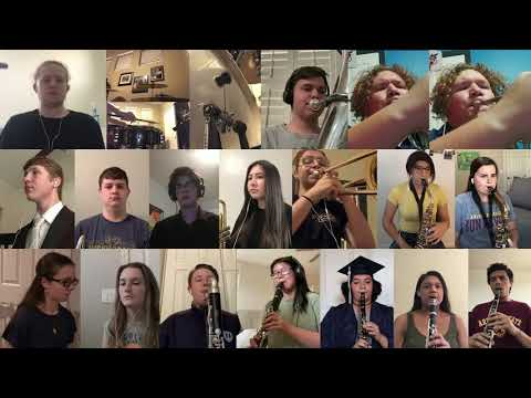 """Higley High School Virtual Ensemble - """"From Mountaintops"""" by Christopher J. Tootle"""