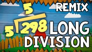 Long Division Song For Kids | 1-Digit Divisor with Remainders