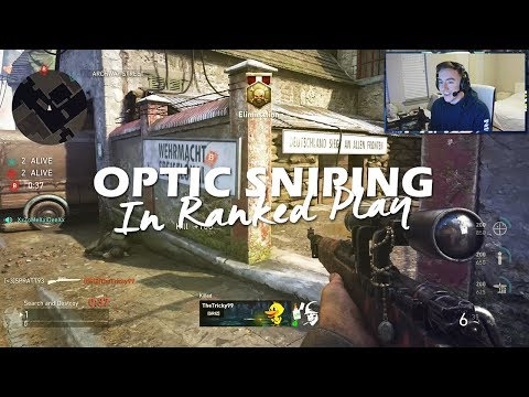 OpTic Sniping In Ranked Play!!