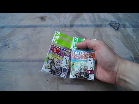 Распаковка посылки от интернет-магазина Spinningline. Приманки и крючки