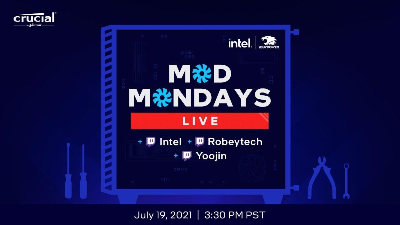 Mod Mondays Live ft Yoojin & Robeytech | Intel Gaming