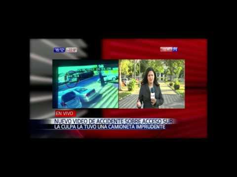 Video muestra inconsciente maniobra de motocarga que provocó accidente