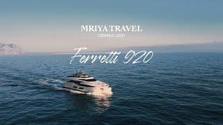 Яхта Ferretti 920   Mriya Resort & SPA (4K VIDEO)