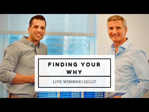 Finding Your Why - Live Webinar
