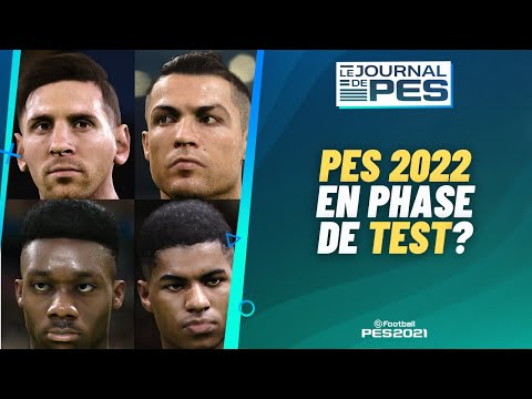 PES 2021 : DP5, PES 2022 en test, MetaHumans !